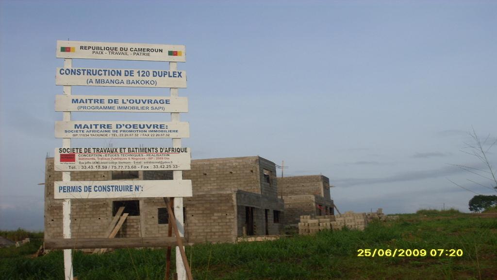 LOGEMENT SOCIAUX- YASSA DOUALA (2009)